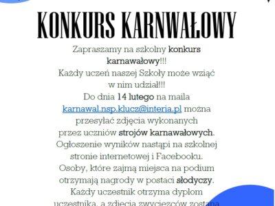 """Samorząd Uczniowski """"Klucza"""" zaprasza!"""