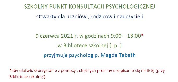 Spotkanie z psychologiem