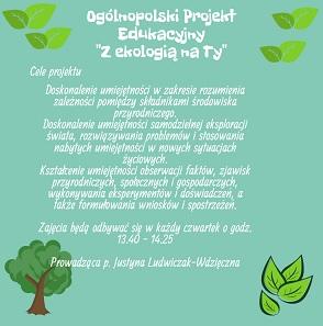 Z ekologią na ty.